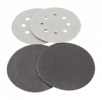 203mm Diameter hook & loop  backed sanding discs.